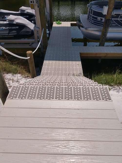 dock and decks marine contractor composite decking orange beach