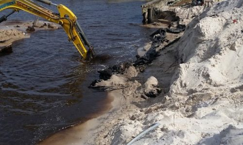 campbell remove seawall