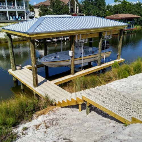30 x 14 Boat house